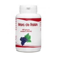 Marc de Raisin Bio - 250 mg - 200 gélules