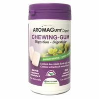 48 Chewing gum MENTHE - Aromagum Digest Huiles essentielles, anis et fenouil