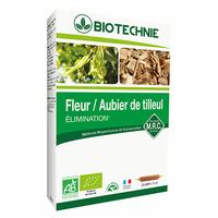 Aubier tilleul et Fleur de tilleul Bio - 20 ampoules