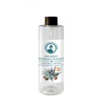 Gel mains hydroalcoolique désinfectant 100 ml Aloé véra et l'huile essentielle d'orange - actifs hydratants