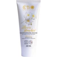 Shampooing et douche BIO fleurs blanches 200 ml