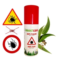 Spray Anti-Tiques Peau & Textiles 50 ml insectcare®
