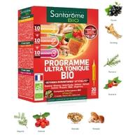 SANTAROME Bio Programme Ultra Tonique Bio 30 ampoules