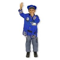 Melissa & Doug Costume Mixte d'Agent de Police avec Accessoires Déguisement