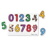Melissa & Doug Puzzle Chiffres et nombre Apprendre a compter