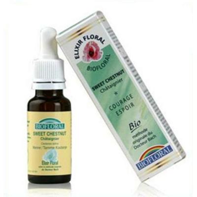 Biofloral - Châtaignier (Sweet Chestnut n°30) Bio- 20 ml - Elixirs Floraux du Docteur Bach