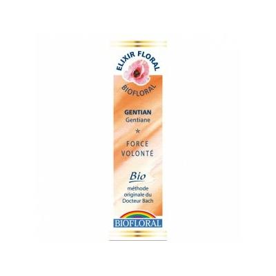 Biofloral - Gentiane Bio - 20 ml - Elixirs Floraux du Docteur Bach