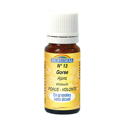Biofloral - Ajonc granules (Gorse) BIO - 10 g - Elixirs Floraux du Docteur Bach