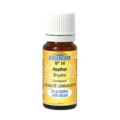 Biofloral - Bruyère granules (Heather)  BIO - 10 g - Elixirs Floraux du Docteur Bach