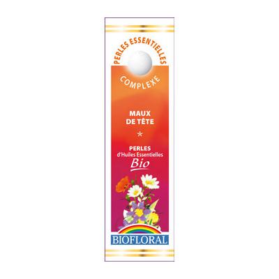 Biofloral - Perles essentielles Complexe Maux de tête BIO - 20 ml