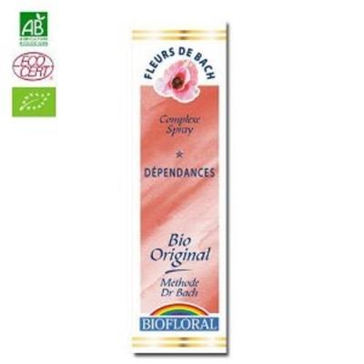 Biofloral - Dépendance Bio - 20 ml - Elixirs Floraux du Docteur Bach