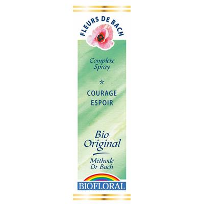 Biofloral - Courage, Espoir Bio - 20 ml - Elixirs Floraux du Docteur Bach