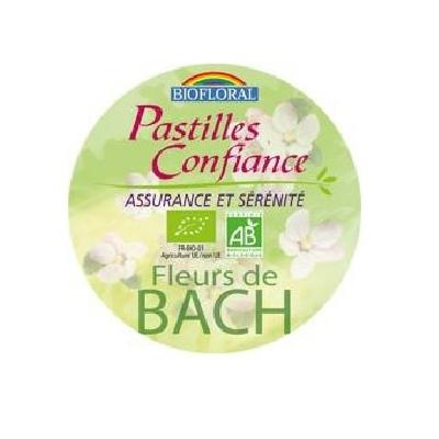 Biofloral - Pastilles Confiance, format familial BIO - boîte 50 g - Elixirs Floraux du Docteur Bach