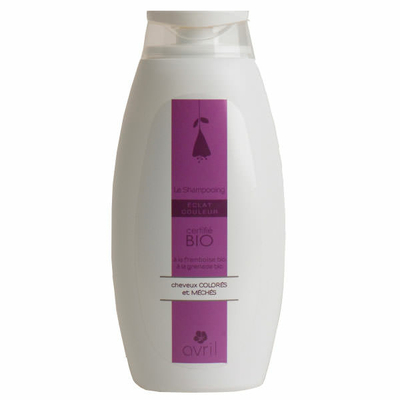 Avril - Shampoing Eclat couleur Bio - flacon 500 ml