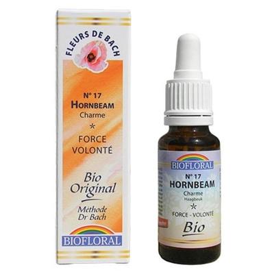 Biofloral - Charme (Hornbeam) Bio - 20 ml - Elixirs Floraux du Docteur Bach