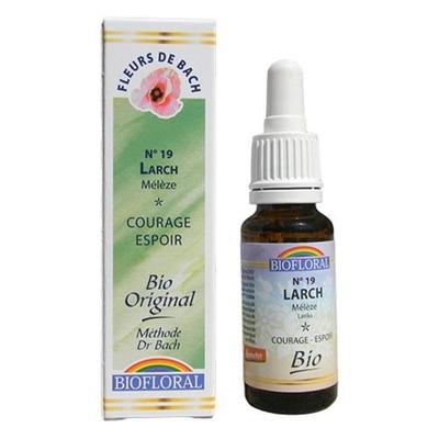 Biofloral - Mélèze (Larch) Bio - 20 ml - Elixirs Floraux du Docteur Bach