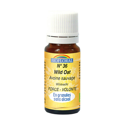 Biofloral - Avoine sauvage granules (Wild Oat) BIO - 10 g - Elixirs Floraux du Docteur Bach