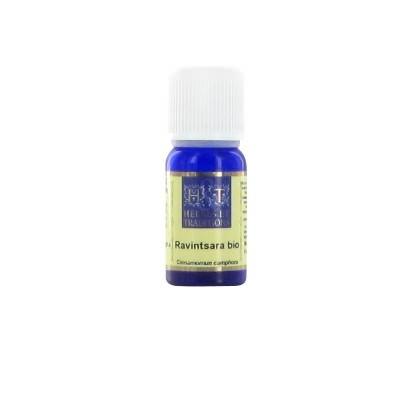 Herbes & Traditions - HE Ravintsara (Cinnamomum camphora) Bio - Flacon 10 ml
