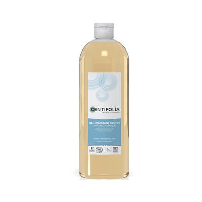 Gel moussant neutre Bio hypoallergénique Flacon 1 litre
