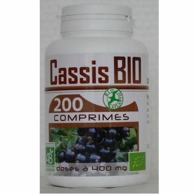 Cassis bio 200 comprimes