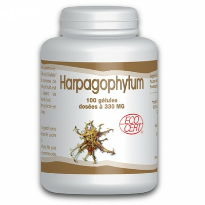 Harpagophytum Bio 330mg 100 Gelules gph
