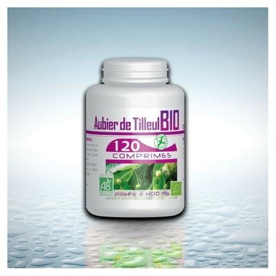 Aubier de tilleul bio 120 comprimes