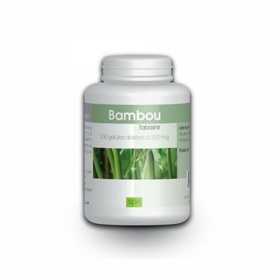 Bambou Tabachir - 100 gelules e 250 mg