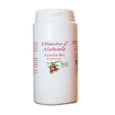 Acerola pure bio (poudre) 200 g
