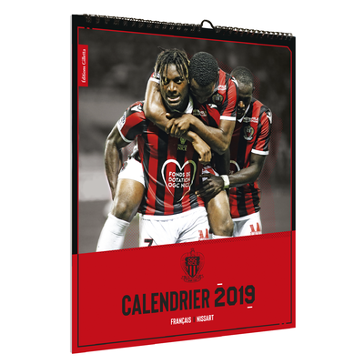 CALENDRIER OGCNICE 2019