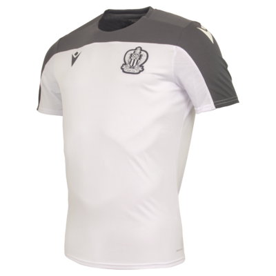 TEE-SHIRT OGC NICE TRAINING 19/20 BLANC