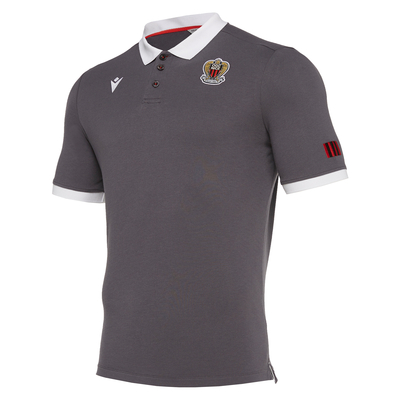 POLO OGC NICE ANTHRACITE 19/20