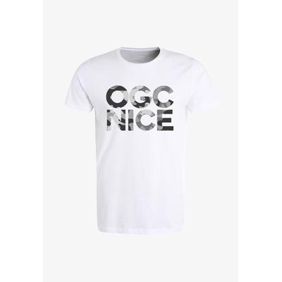 TEE-SHIRT OGC NICE CAMO BLANC