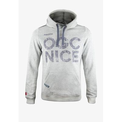 SWEAT OGC NICE GRIS CAPUCHE 19/20