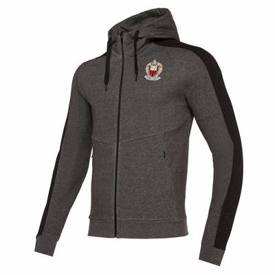 ATHLEISURE HOODY ANTHRACITE
