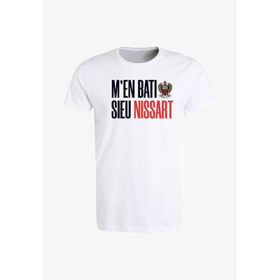 TEE-SHIRT M'EN BATI 19/20 BLANC