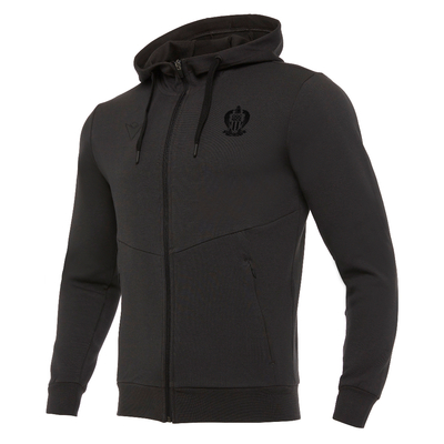 ATHLEISURE HOODY DARK GREY