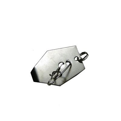 PALETTE CHATTER (avec agrafe et anneau brisé)