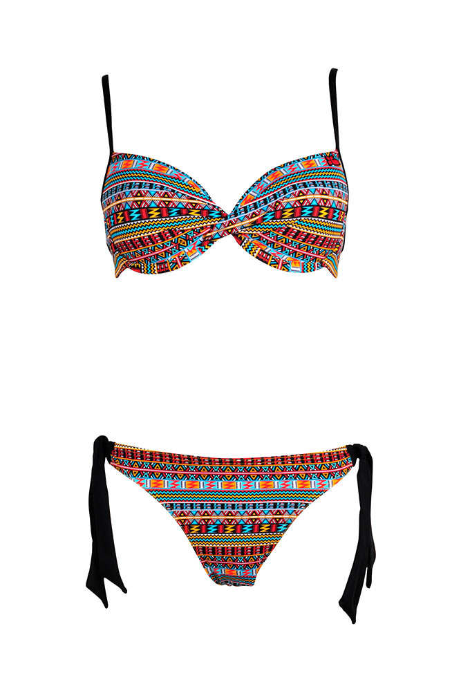 bikini set pikes peak mit ethno motiven damen bikinis online 2016. Black Bedroom Furniture Sets. Home Design Ideas