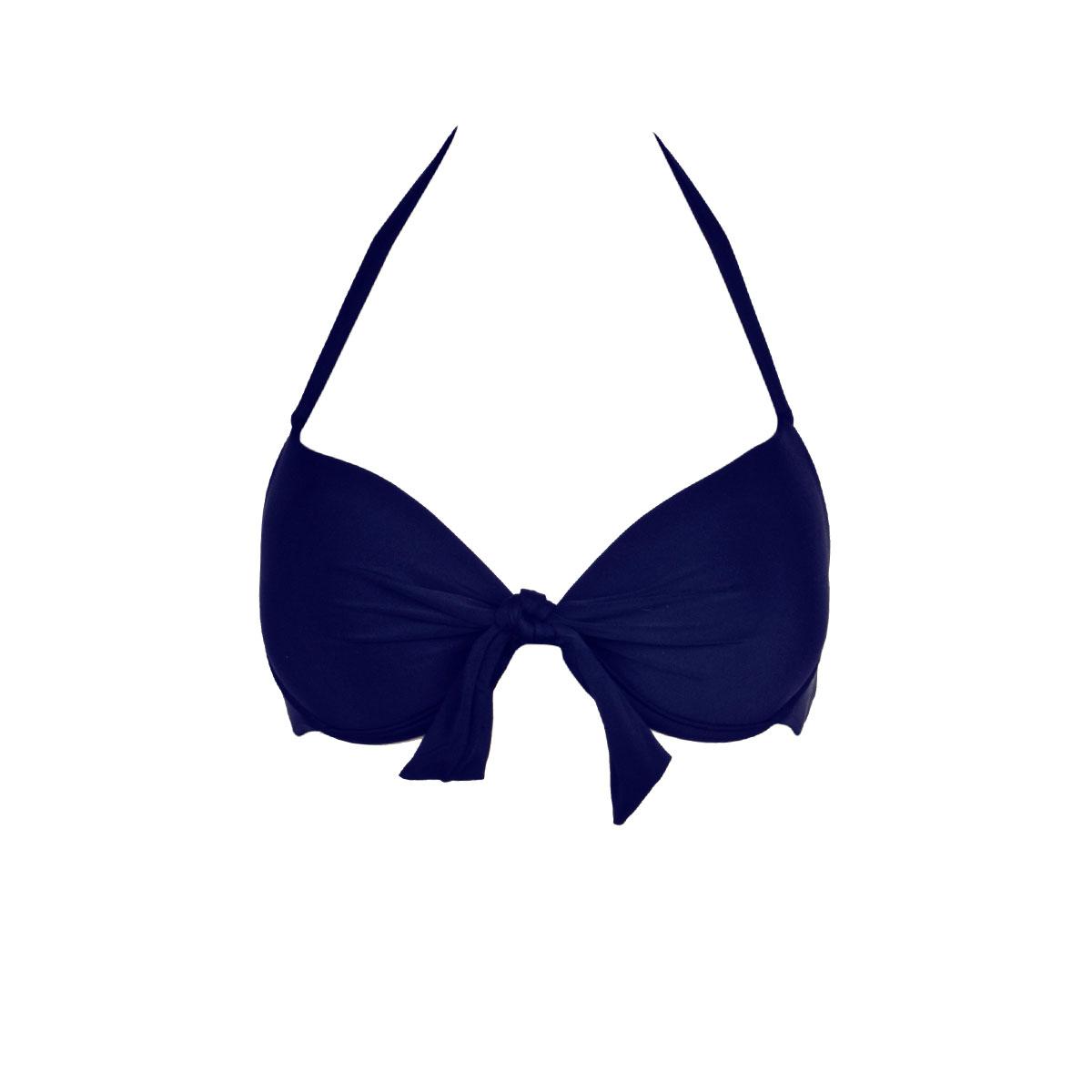 Mon Push-up Bikini, marine blau (Oberteil)