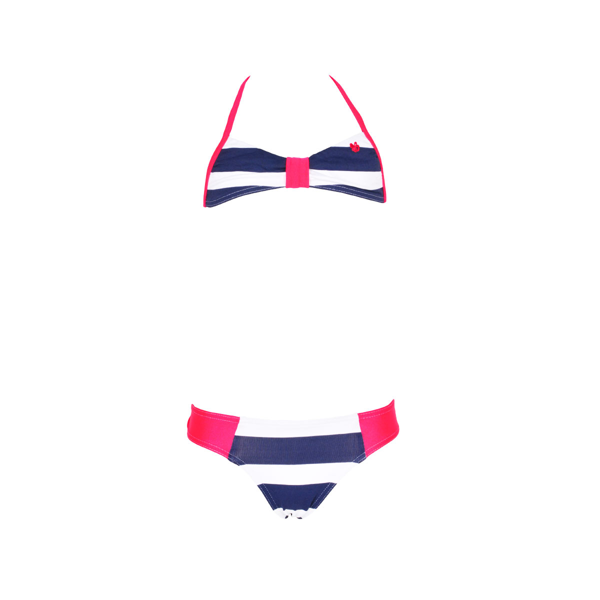 Bikini Set Deerfield Kids, blau