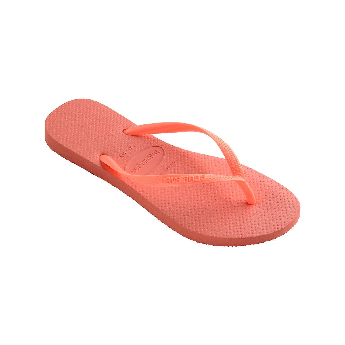 Flip-Flops Slim, rosa koralle