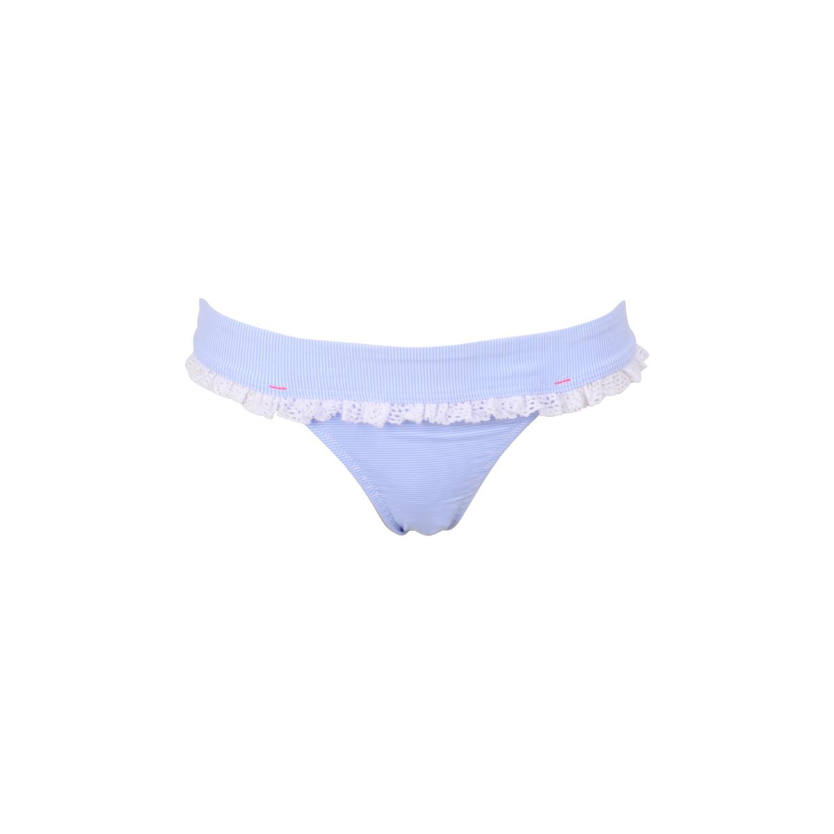 TEENS - Bikini-Slip Angelica blau-weiß gestreift (Hose)