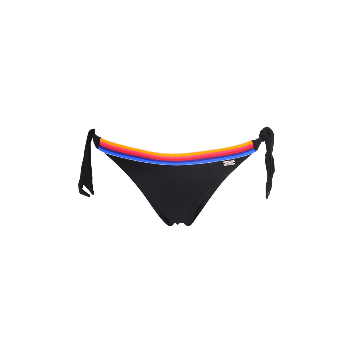 TEENS - Bikini-Slip Supercolor in schwarz zum seitlichen Binden (Hose)