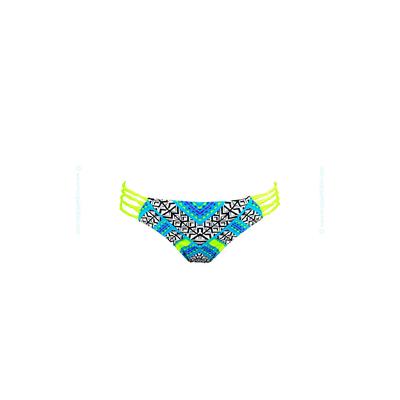 Bikini Hose Gelb (Neon) Ethnic-Druck Gypsy Queen