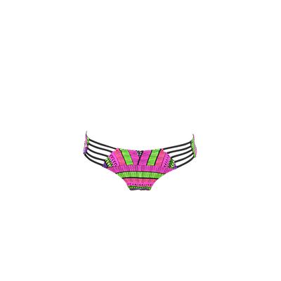Bikini Hose Modern Myth Schwarz Bunt