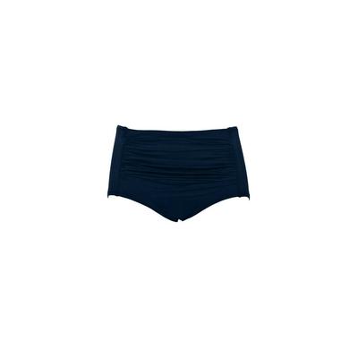 Bikini-Slip Indigo, in Blau