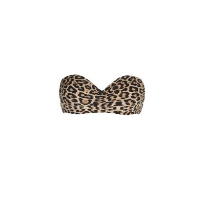 Mon Bandeau Bikini mit Leoparden-Print (Oberteil)