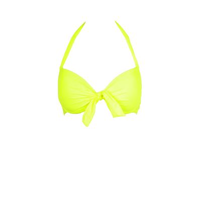 Mon Push-up Bikini Neongelb (Oberteil)