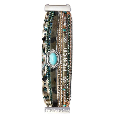 Armband Hipanema Green Peace Braun