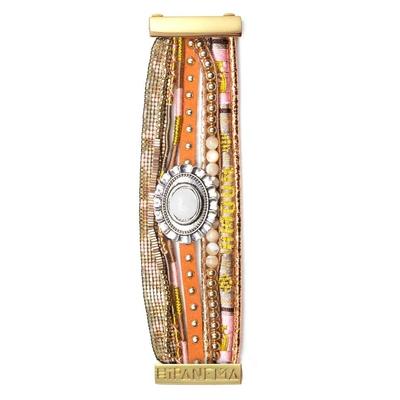 Hipanema - Damen-Armband Goldamour, vergoldet